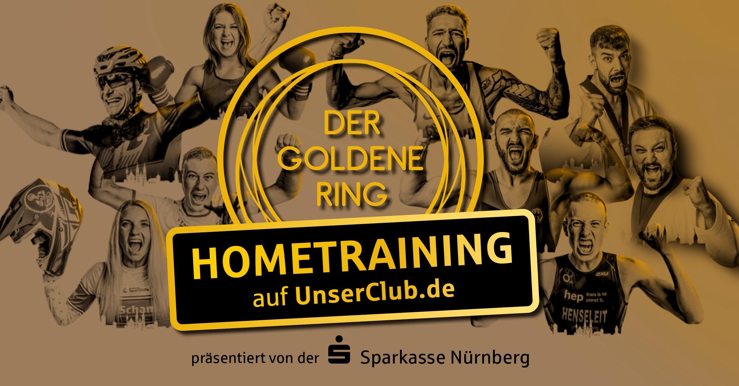 Die Übungsleiter dür das GOLDENER RING HOMETRAINING