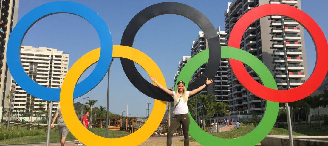 Nadja Pries bei den Olympischen Spielen in Rio 2016