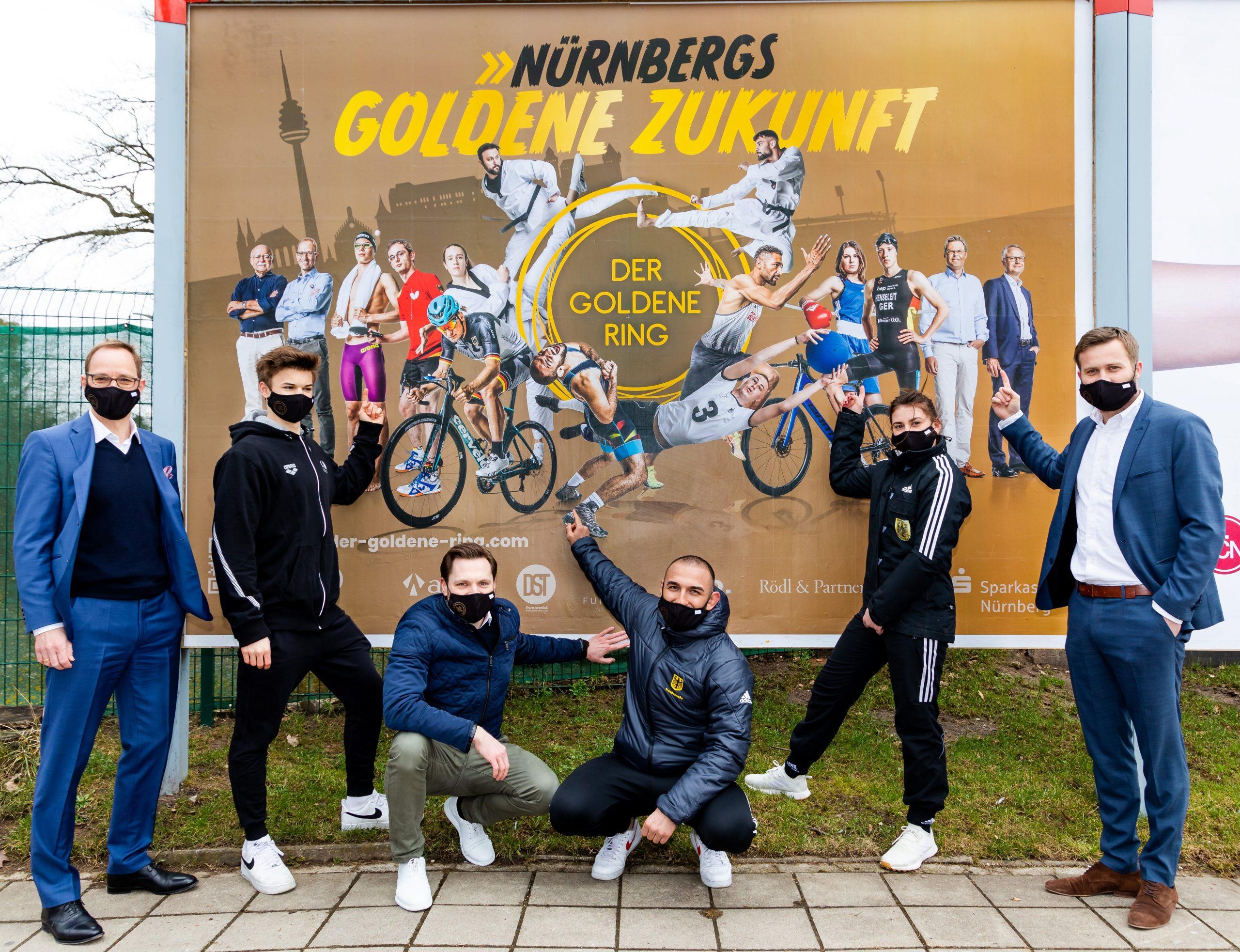 """Der GOLDENE RING präsentiert das Hauptmotiv seiner Kommunikationskampagne """"Nürnbergs GOLDENE Zukunft"""""""