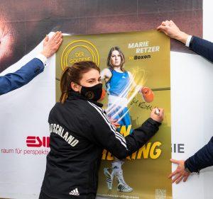 Für Boxerin Marie Retzer ist der Traum von Tokio 2021 nach einer Verbandsentscheidung wohl geplatzt.