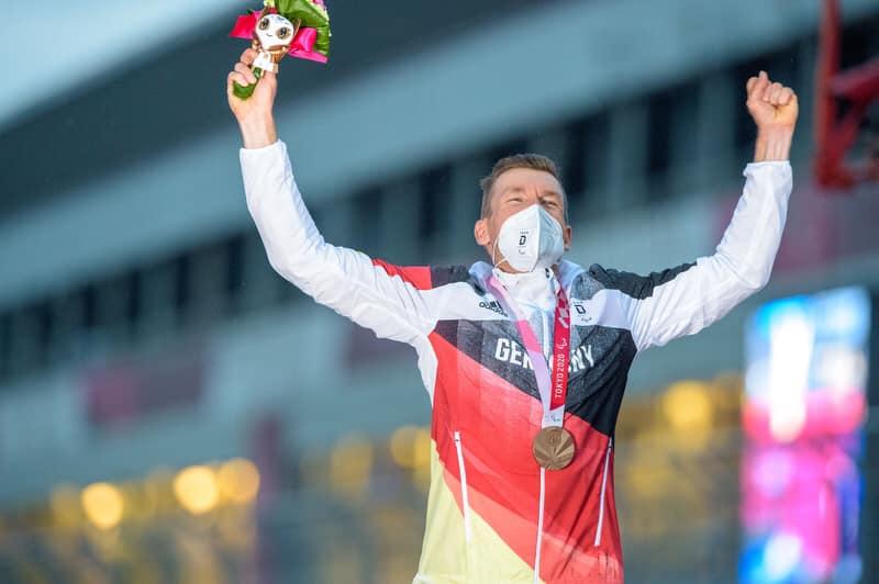 Matthias Schindler gewinnt Bronze im Zeitfahren bei den Paralympics in Tokio (Foto: Pixolli Studios - Oliver Kremmer).